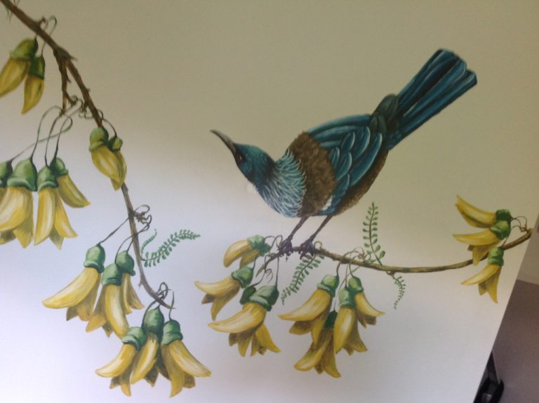 Tui wall painting